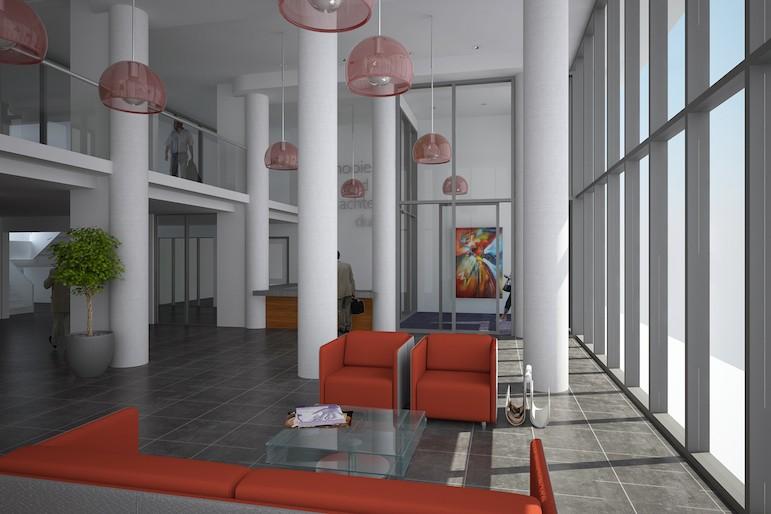 Verpleeghuis swaenestate den haag kyk architecten bv - Hal entreehal ...
