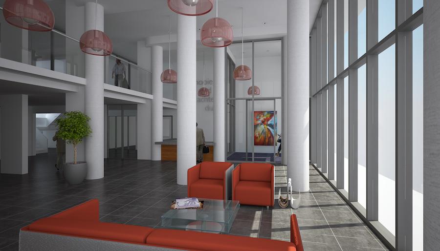 Verpleeghuis kyk architecten bv - Hal entreehal ...